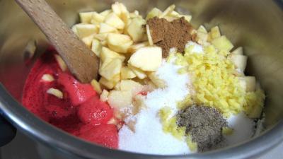 Chutney de mûres aux pommes - 4.2