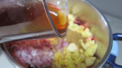 Chutney de mûres aux pommes - 4.4