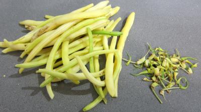 Risotto aux haricots verts et mendiants - 1.1