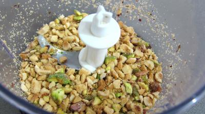 Risotto aux haricots verts et mendiants - 1.3