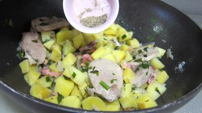 Filet mignon aux pommes de terre - 6.3