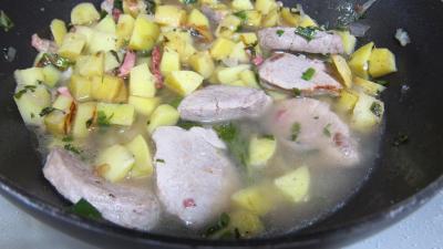 Filet mignon aux pommes de terre - 7.2