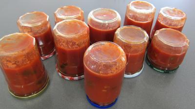 Sauce tomates aux olives (conserve) - 9.1