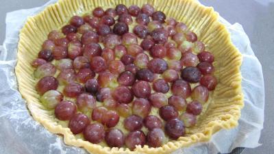 Clafoutis aux raisins et au brousse - 3.1