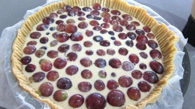 Clafoutis aux raisins et au brousse - 3.3