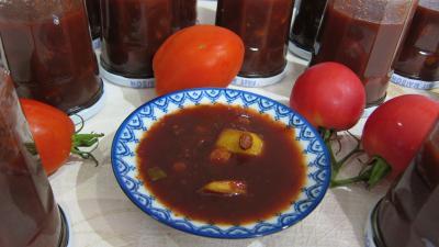 Recette Coupelle de chutney aux tomates