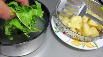 Purée de pommes de terre aux blettes - 5.1