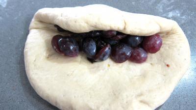 Pain au lait aux raisins frais et cranberries secs - 6.2