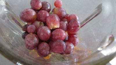 Coulis de pêches et raisins noirs (conserves) - 2.2