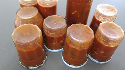 Sauce tomate Puttanesca (conserve) - 8.4