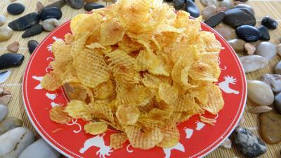 Recette Pommes de terre gaufrettes