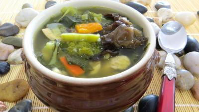 Recette Soupe minceur de batavia et légumes