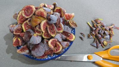 Couscous sucré aux figues en verrines - 1.1