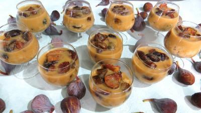 Recette Couscous sucré aux figues en verrines