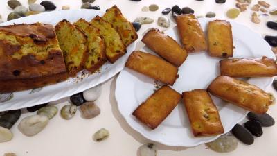 cake : Assiettes de pumpkin bread