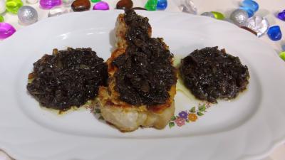 vinaigre balsamique : Plat de porc au miel et vinaigre balsamique