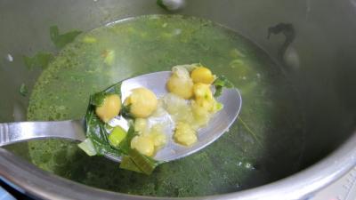 Soupe de pois chiches à la provençale - 6.3