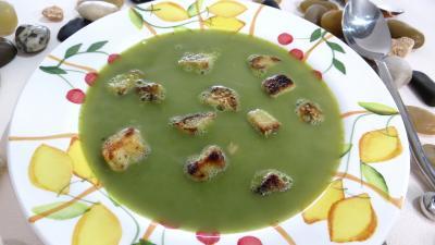 Soupe de pois chiches à la provençale - 7.4