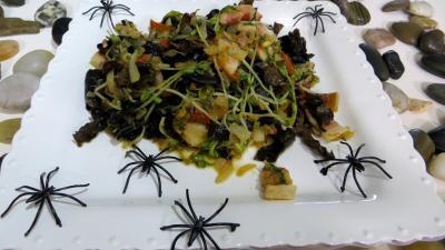 Recette Poêlée de germes de soja