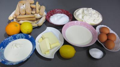 Ingrédients pour la recette : Cheesecake new-yorkais revisité