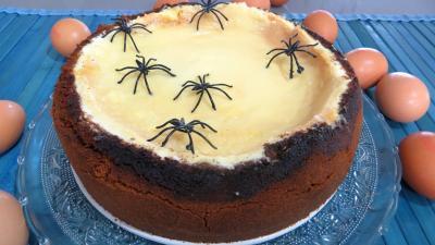 Dessert à base de fromage blanc : Assiette de cheesecake new-yorkais
