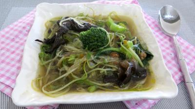 Recette Ramequin de soupe aux germes de soja