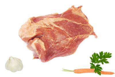 Photo : Palette de porc