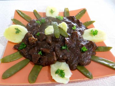 Sauces : Assiette de carbonnade flamande