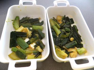 Poireaux et églefins faciles en cassolettes - 4.2