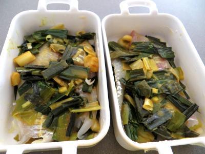 Poireaux et églefins faciles en cassolettes - 5.1
