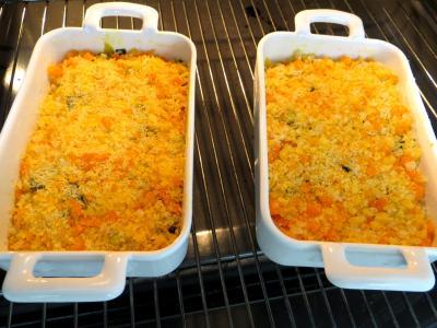 Poireaux et églefins faciles en cassolettes - 5.3