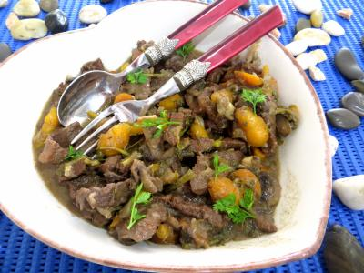 Recette Saladier de boeuf aux carottes