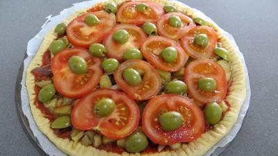 Pizza à l'aubergine - 5.1