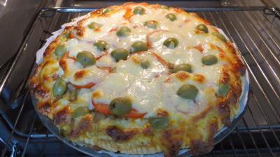 Pizza à l'aubergine - 5.3