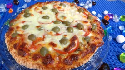 Recette Pizza à l'aubergine