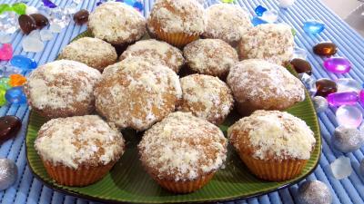 Amande : Assiettes de gâteaux brestois