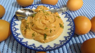 sauce pour légumes : Ramequin de sauce marseillaise