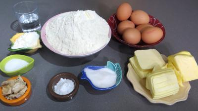 Ingrédients pour la recette : Brioche provençale