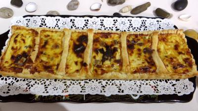 entre  base de fromage : Tarte feuillete aux fromages forts