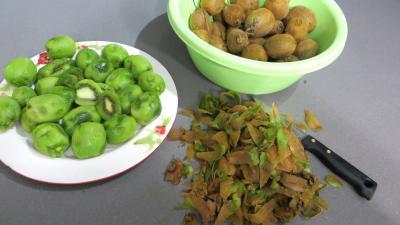 Marmelade de kiwis et de fruits d'hiver - 1.3