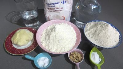 Ingrédients pour la recette : Pain de campagne sur levain