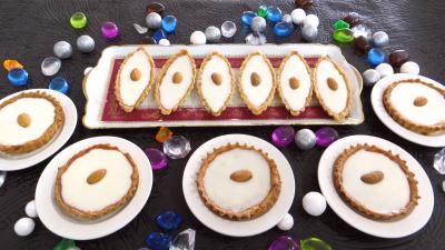 pâte sucrée : Plats de massillons (petits four)