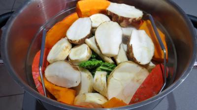 Panais et légumes vapeur - 2.3