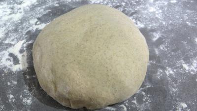 pâte à pizza : Pâte à pizza à la farine de seigle
