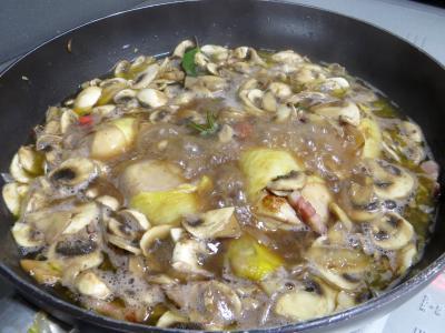 Pilons de poulet à la bourguignonne - 7.2