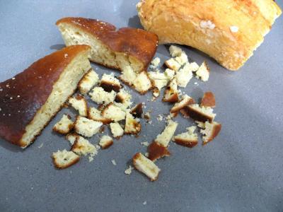 Restes de brioches à la crème pâtissière au caramel - 1.1