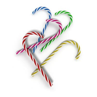 Photo : Bâtonnets de sucre d'orge