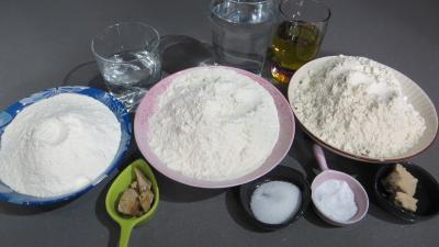 Ingrédients pour la recette : Pain italien pugliese