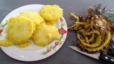 Feuilletés d'ananas - 1.2