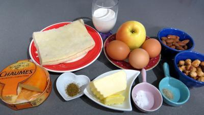 Ingrédients pour la recette : Tarte au fromage de Chaume